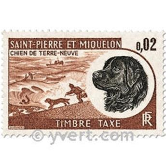 n° 77/81 -  Timbre Saint-Pierre et Miquelon Taxe