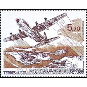 n.o 1 -  Sello Tierras Australes y Antárticas Francesas Aerograma