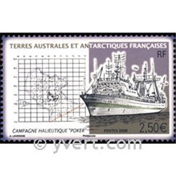 n.o 20 -  Sello Tierras Australes y Antárticas Francesas Bloque y hojitas