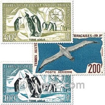n° 2/4 -  Selo TAAF Correio aéreo