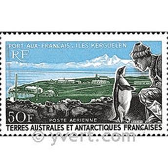 n.o 14 -  Sello Tierras Australes y Antárticas Francesas Correo aéreo