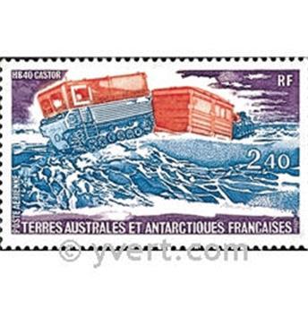 n.o 62 -  Sello Tierras Australes y Antárticas Francesas Correo aéreo