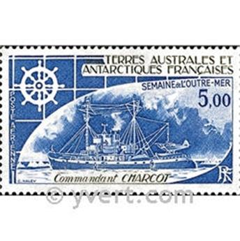 n.o 72 -  Sello Tierras Australes y Antárticas Francesas Correo aéreo