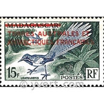 n.o 1 -  Sello Tierras Australes y Antárticas Francesas Correos