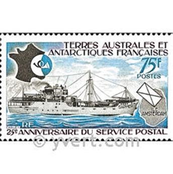 n.o 54 -  Sello Tierras Australes y Antárticas Francesas Correos