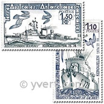 nr. 79/80 -  Stamp French Southern Territories Mail