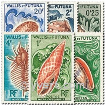 n° 162/167 -  Timbre Wallis et Futuna Poste