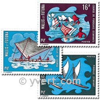 n° 182/184  -  Selo Wallis e Futuna Correios