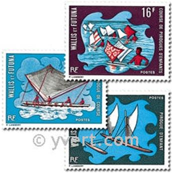 n° 182/184 -  Timbre Wallis et Futuna Poste