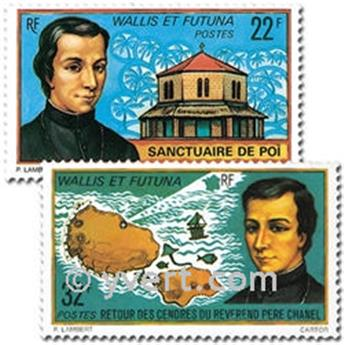n° 196/197 -  Timbre Wallis et Futuna Poste