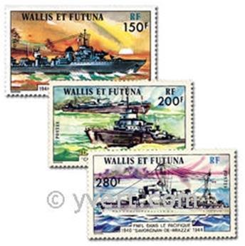 n° 210/212  -  Selo Wallis e Futuna Correios