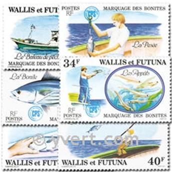 nr. 226/231 -  Stamp Wallis et Futuna Mail
