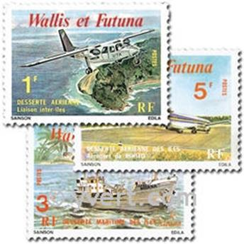 n.o 254/256 -  Sello Wallis y Futuna Correos