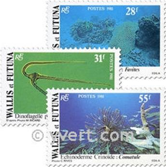 nr. 267/272f (sheet) -  Stamp Wallis et Futuna Mail