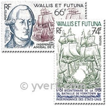 nr. 277/278 -  Stamp Wallis et Futuna Mail