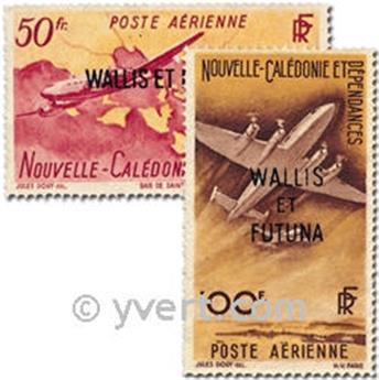 n° 12/13  -  Selo Wallis e Futuna Correio aéreo
