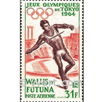 n.o 21 -  Sello Wallis y Futuna Correo aéreo