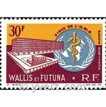 n.o 27 -  Sello Wallis y Futuna Correo aéreo