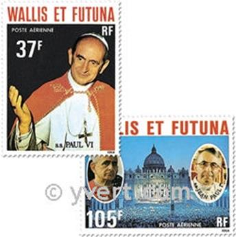 n° 86/88 -  Timbre Wallis et Futuna Poste aérienne