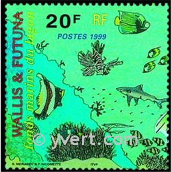 n° 8 -  Timbre Wallis et Futuna Bloc et feuillets
