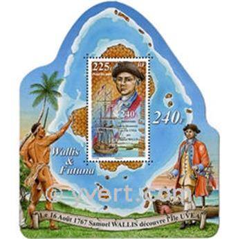 n° 22 -  Timbre Wallis et Futuna Bloc et feuillets