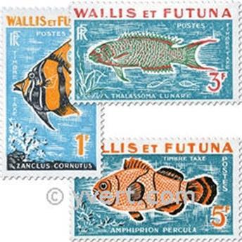 n° 37a/39a -  Timbre Wallis et Futuna Taxe