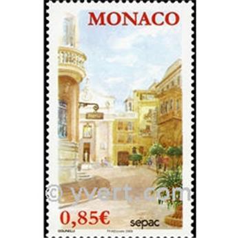 n° 2699 -  Selo Mónaco Correios