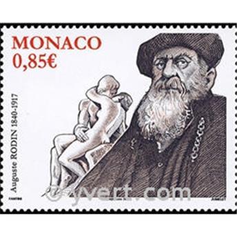 n° 2703 -  Selo Mónaco Correios
