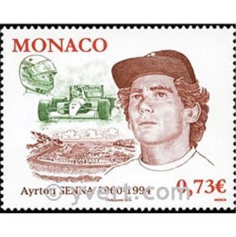 n° 2709 -  Selo Mónaco Correios