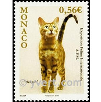 n° 2714 -  Selo Mónaco Correios
