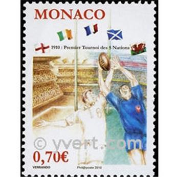 n° 2719 -  Selo Mónaco Correios