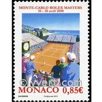 n° 2723 -  Selo Mónaco Correios