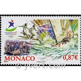 n° 2745 -  Selo Mónaco Correios