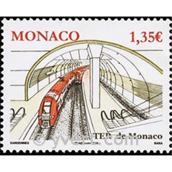 n° 2753 -  Selo Mónaco Correios