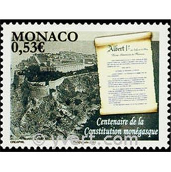 n° 2757 -  Selo Mónaco Correios