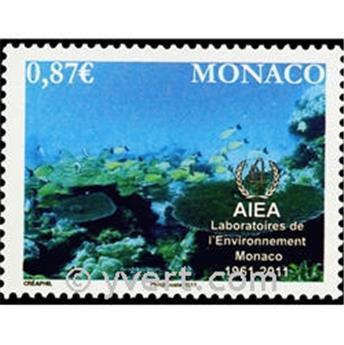 n° 2762 -  Selo Mónaco Correios