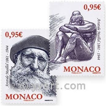 n° 2766/2767 -  Selo Mónaco Correios