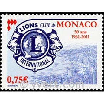 n° 2777 -  Selo Mónaco Correios