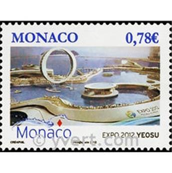 n° 2825 -  Timbre Monaco Poste
