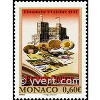 n° 2794 -  Selo Mónaco Correios