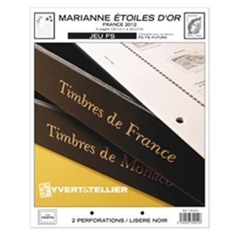 FRANCE FS : 2012 (Marianne - Étoile d´Or)