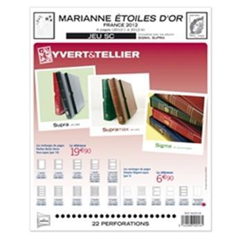 FRANCE SC : 2012 (Marianne - Étoile d´Or)