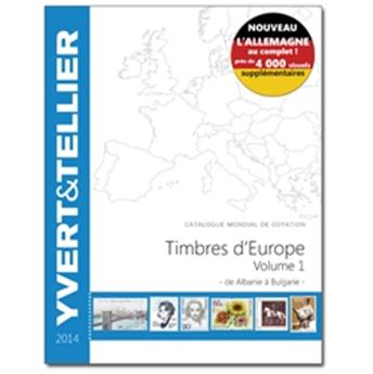 EUROPE Volume 1 - 2014 (Timbres des pays d´Europe de A à B)