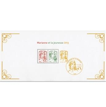 nr. 82 -  Stamp France Souvenir sheets