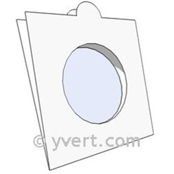 COIN HOLDERS: 35 mm - SELF SEALING