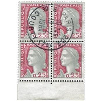 n°1263f obl. - Stamp France Mail